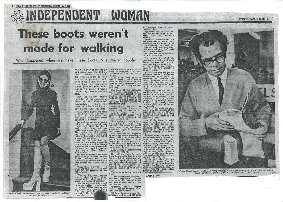 Cleggs-Shoe-Repair-Rathmines-News-Article-1973