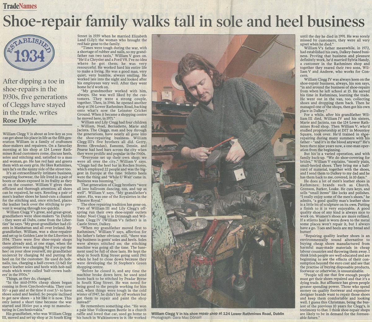 Cleggs-Shoe-Repairs-Five-Generations