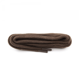 Dark Brown Medium Weight Round Cord Laces