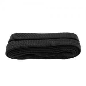 Wide flat Supremes Laces for Trainers 114cm Black